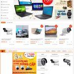 Mẫu website thương mại điện tử, bán lẻ