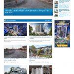 Mẫu website rao vặt, tin tức dự án bất động sản