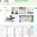 Mẫu website thiết bị vệ sinh